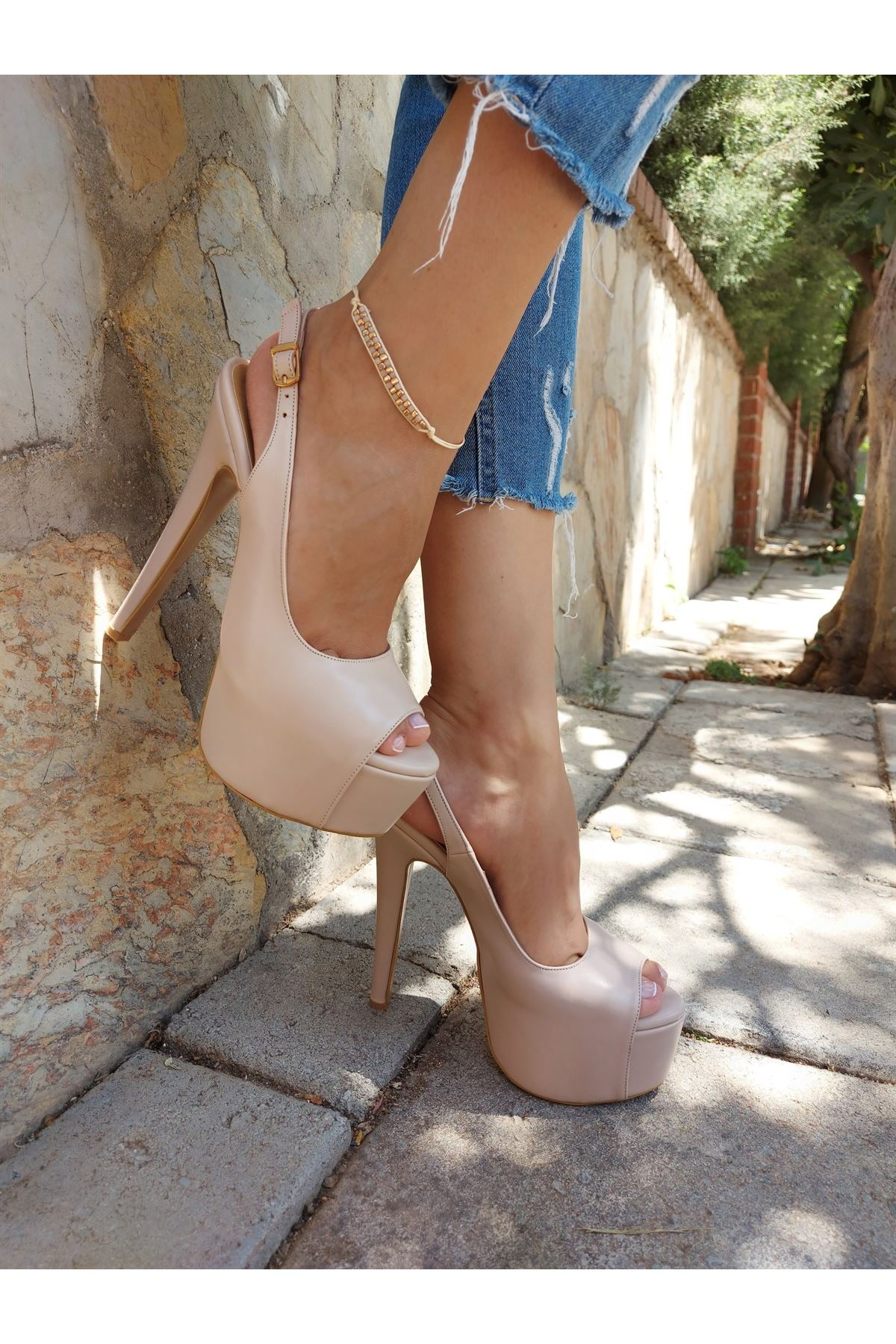 Ruby Ten Cilt Yüksek Topuklu Ayakkabı
