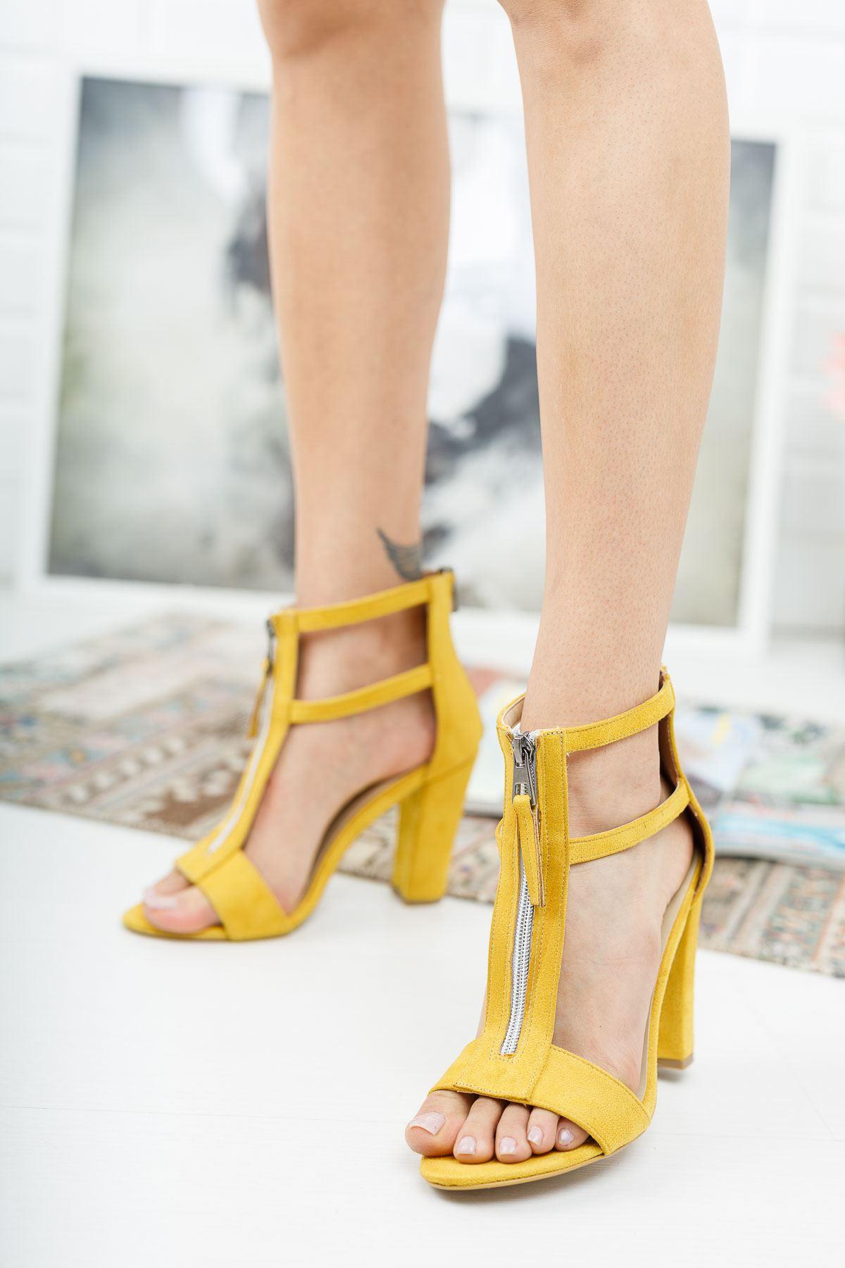 Rein Hardal Süet Topuklu Ayakkabı