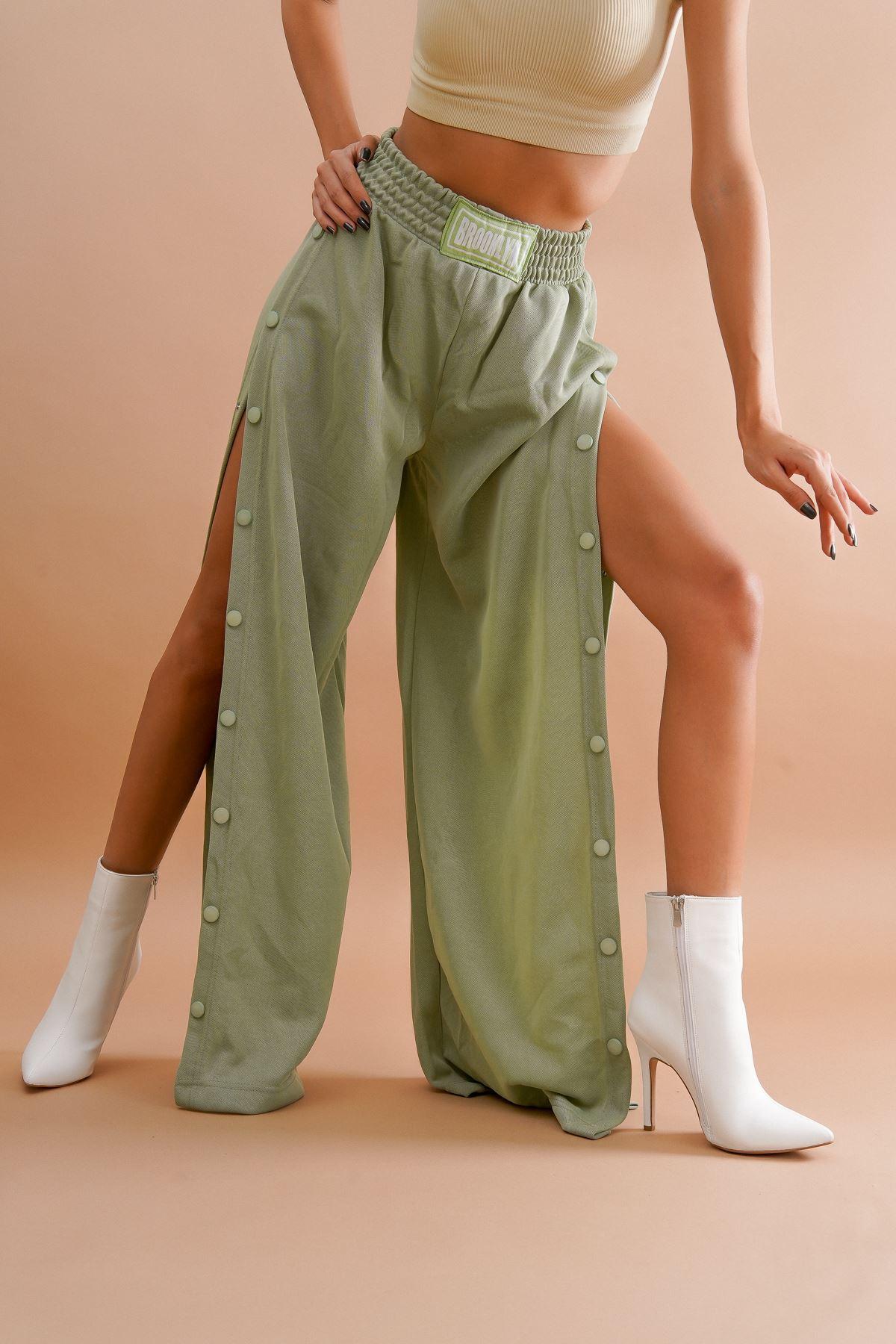 Halden Beyaz Cilt Topuklu Kadın Bot